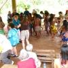 Embera Indian Panama dancing