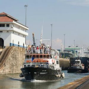 Panama Canal Tugboat