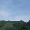 Vista la montaña la india dormida