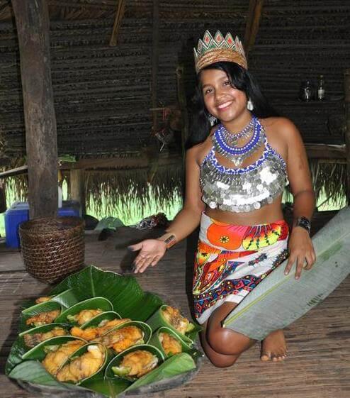 Embera Indigenous Indians Panama